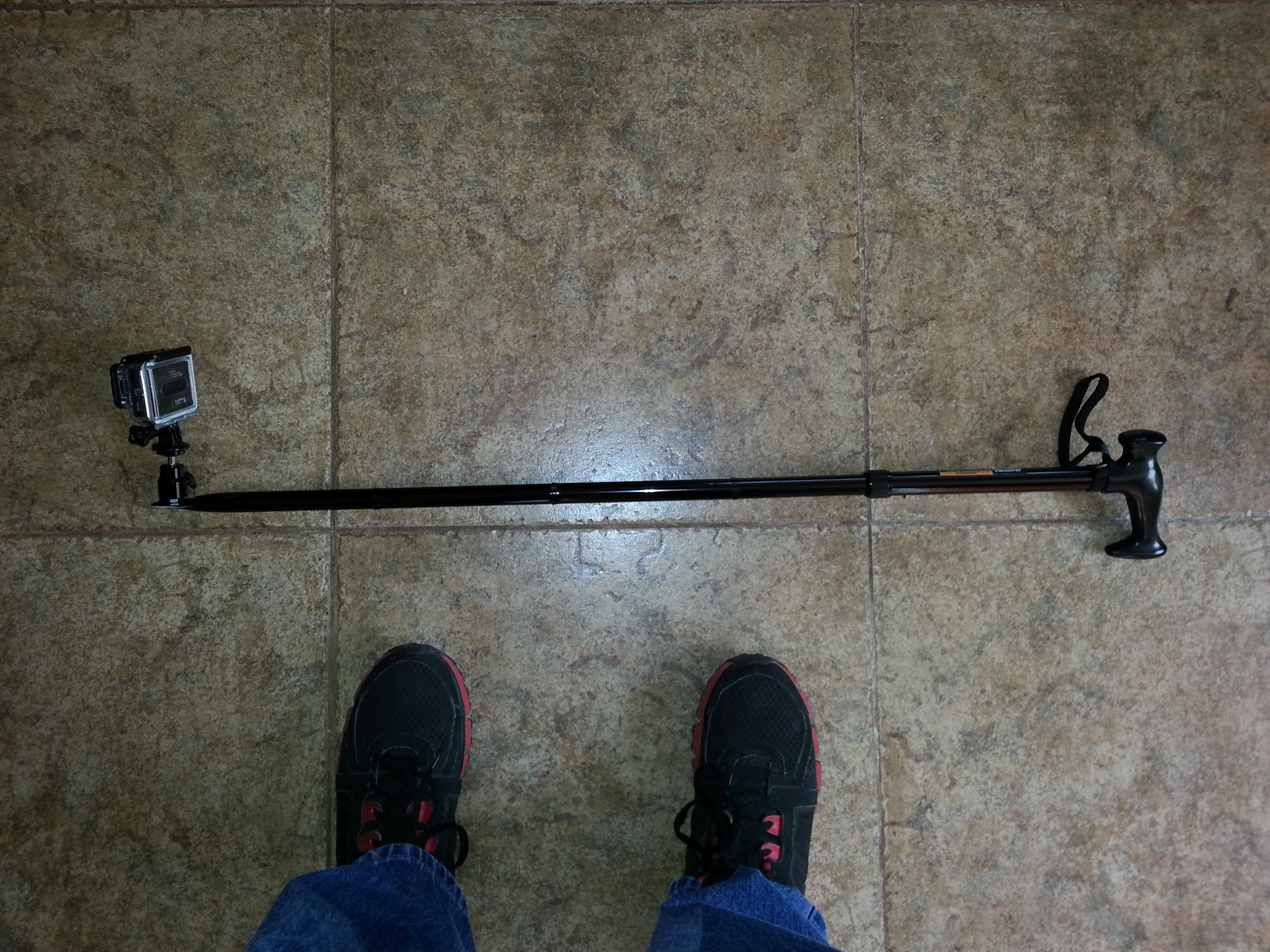 GoPro Extendable Extension Pole for $8.00