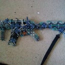 Knex smg (instructions)