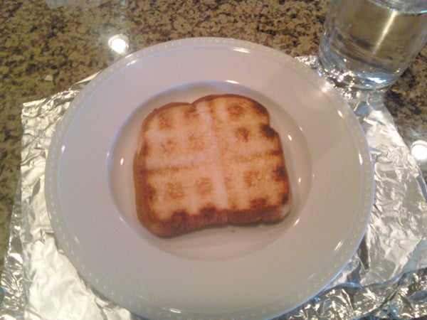 Waffle Sandwich (Sort Of)