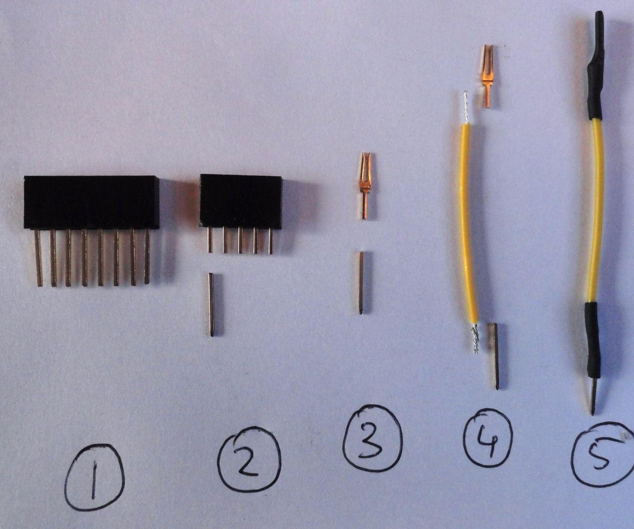DIY jumper wires