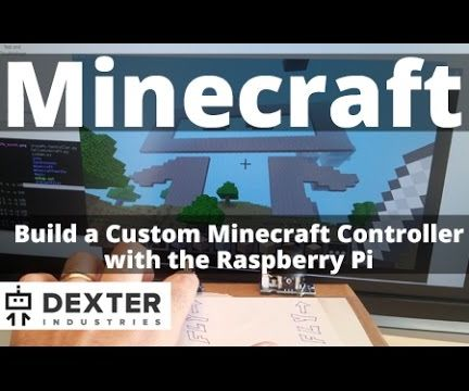 Minecraft Controller With the Raspberry Pi