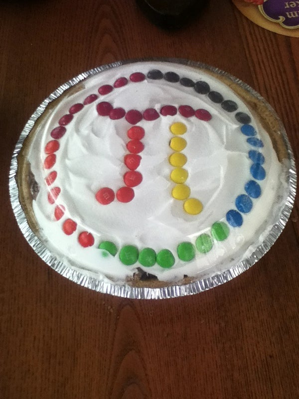 Candy Bar Pie (for Pi Day)