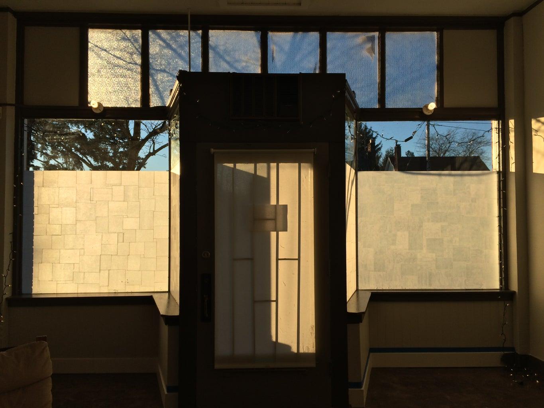 Paper Privacy Windows (window Frost Like a Boss)