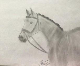 如何画高级马