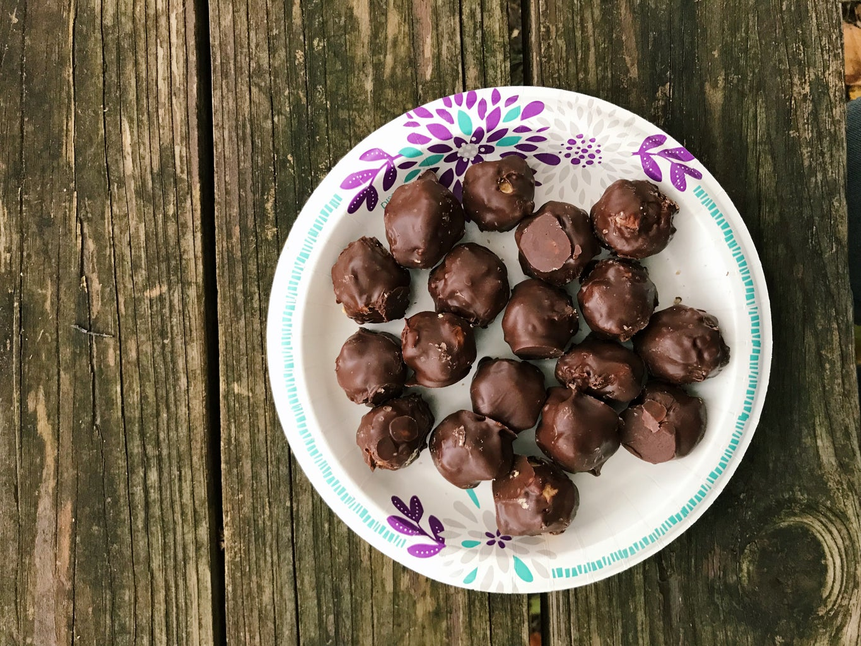 How to Make Chocolate Covered PB Balls