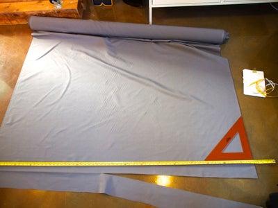 Small Cushion First: Measure + Cut