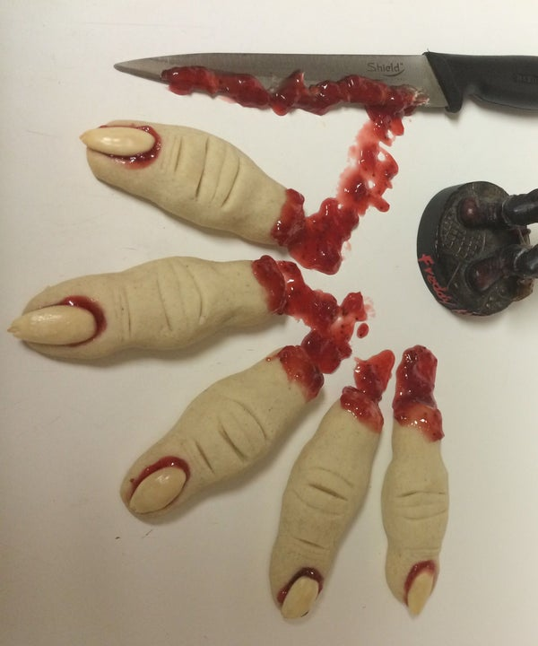 Bloody Severed Fingers