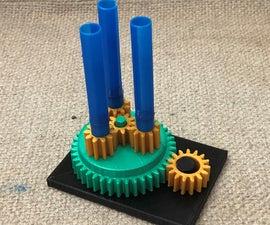 Simple Gear Mechanism (Move Things)