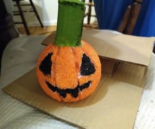 Homemade Fake Pumpkin