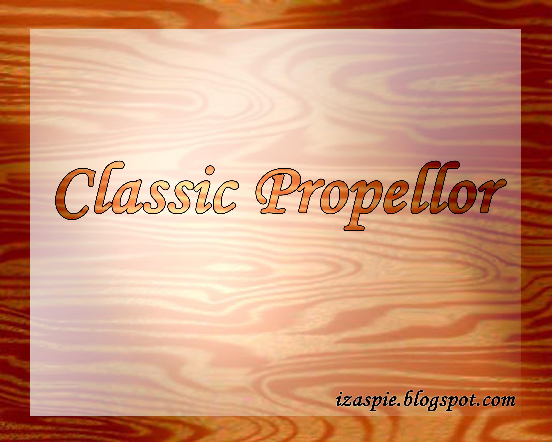 Classic Propellor