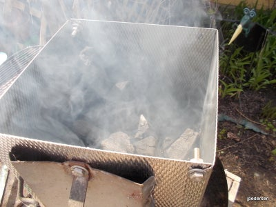 Using the Charcoal Starter