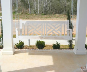 Porch Swing for the St Jude Dream Home Giveaway