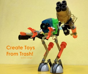用塑料垃圾制作高质量的玩具:初学者指南