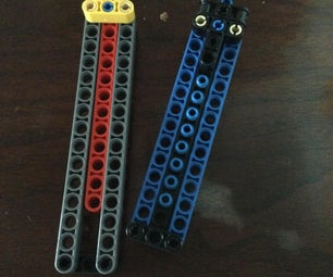Balisong/Butterfly Knife Made Out of Lego