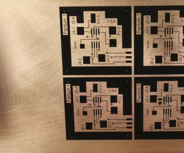 Modification of the Pantum 2502W for Direct Laser Printing of Printer Circuit Boards