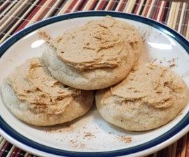 Caramel Nutmeg Cookies