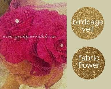 {TANYA} How to Make a Birdcage Wedding Veil Headband