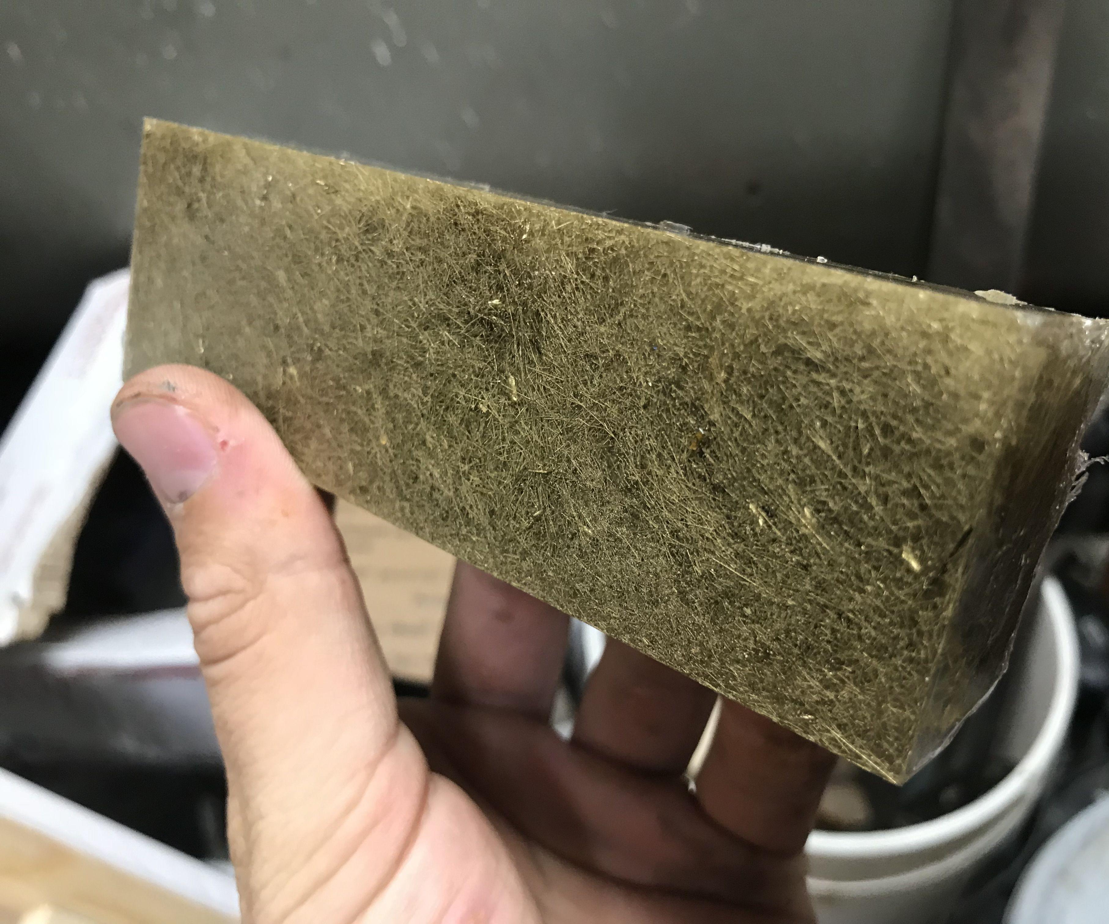 Casting Brass Shavings in Resin!
