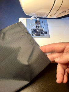 Stitch Sides of Outer Bag and Liner