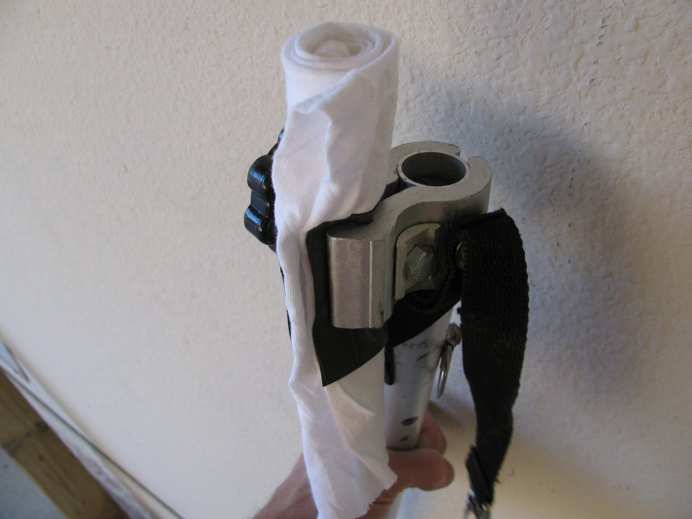 (optional) Pad the Pull-arm Clamp
