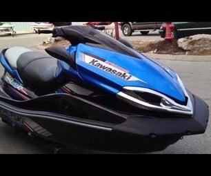 After Ride Flushing and Care for  Kawasaki Ultra 300/310 Part 4