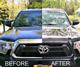 Painting Tacoma Grill Surround