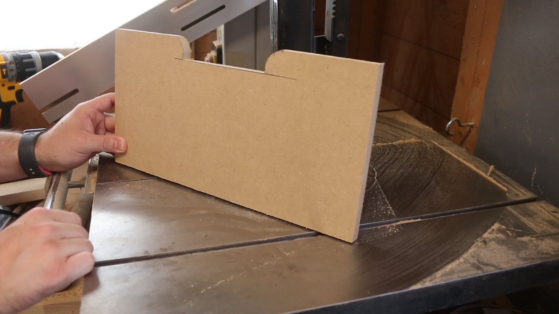Template for Drawer Pulls