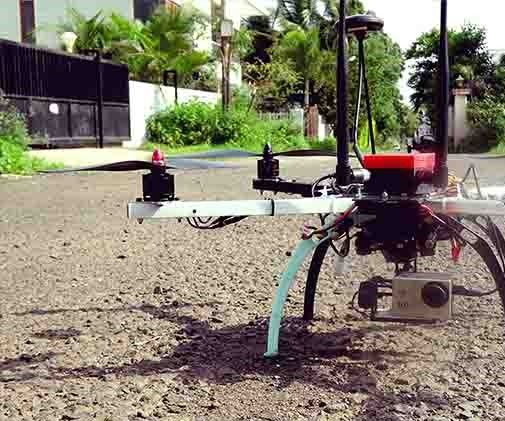 Vision based object tracking and following using 3-axis Gimbal on a DIY drone.