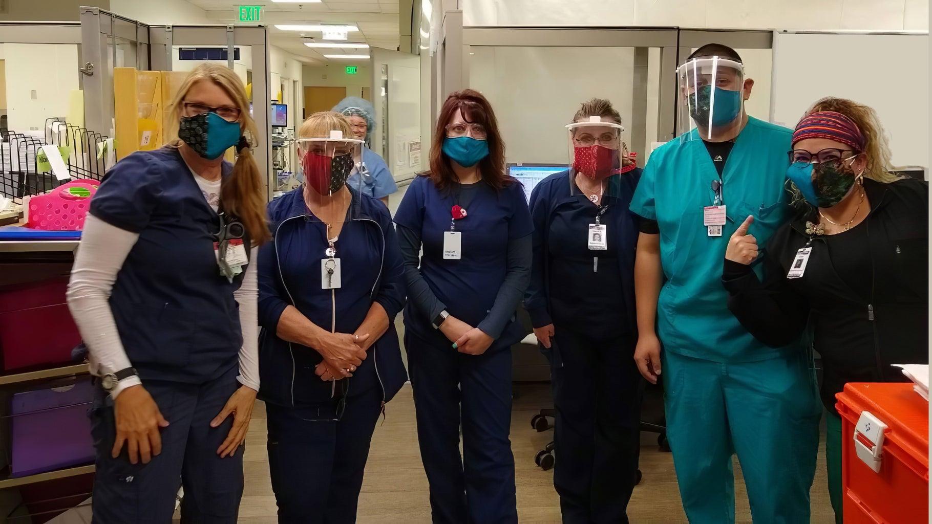 Laser Cut PPE Face Shield