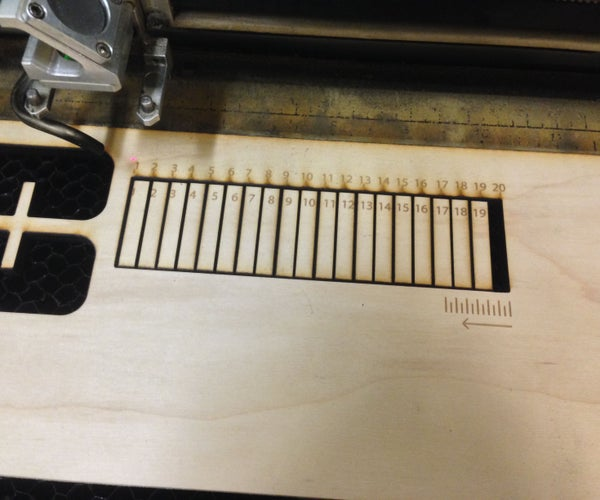 How to Adjust for Wood Thickness and Kerf on a Laser Cutter at Techshop