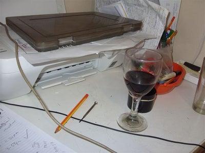 Deskspace Saving Printer Chute