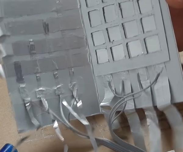 Cardboard Keypad
