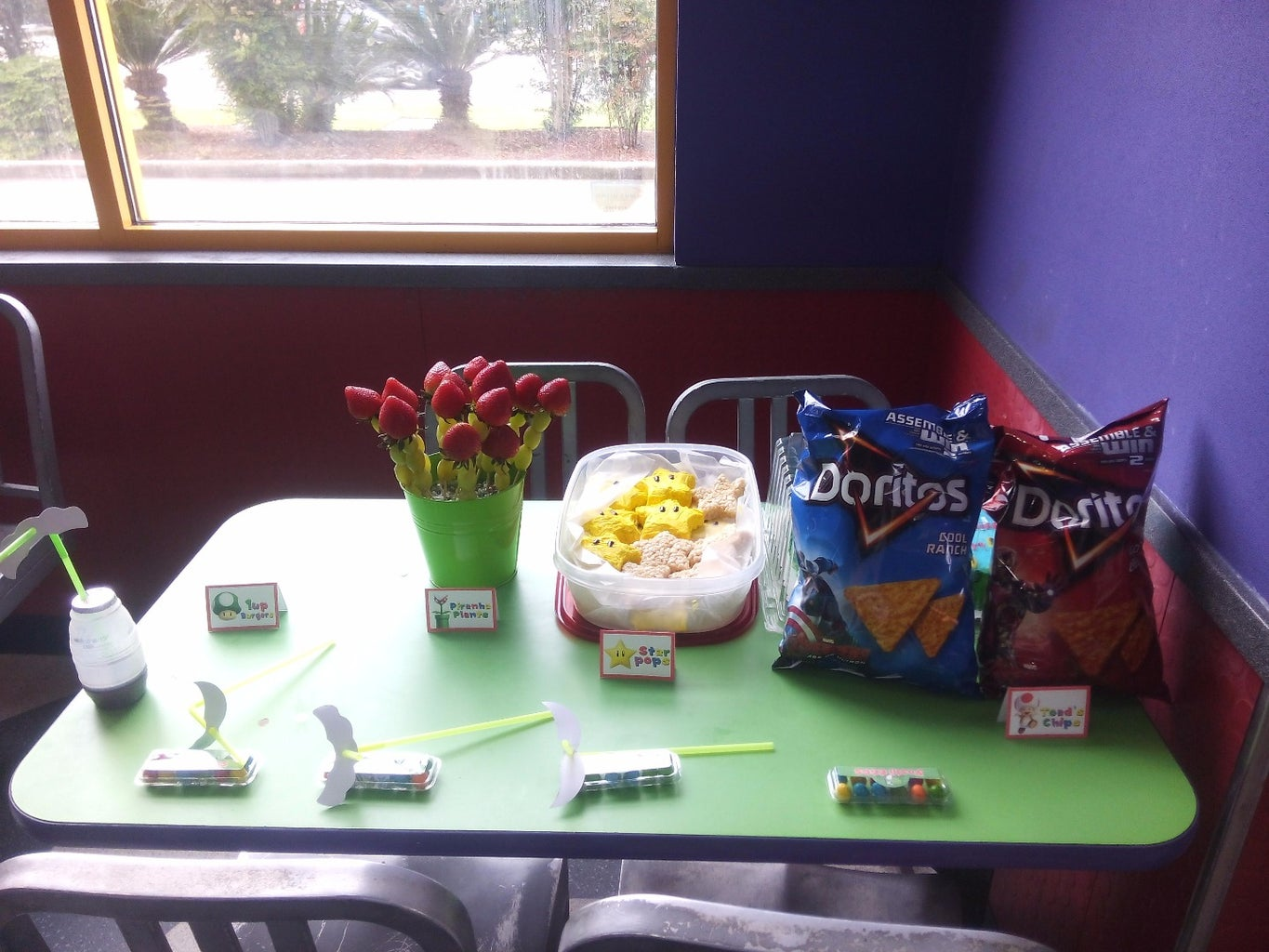 Party Foods and Favors