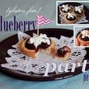 {Gluten Free} Mini Blueberry Party Pie!