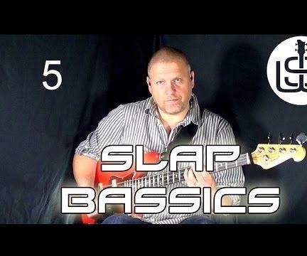 Slap Bassics by Scott Whitley Lesson 5 - Hammer-ons & Pull-offs