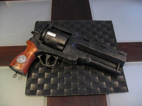 PROP the Hellboy Samaritan Gun