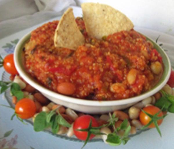 5-Bean Chili Non-Carne