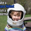 DIY Space Helmet From a Camping Mat!