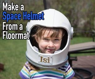 用露营垫DIY太空头盔!