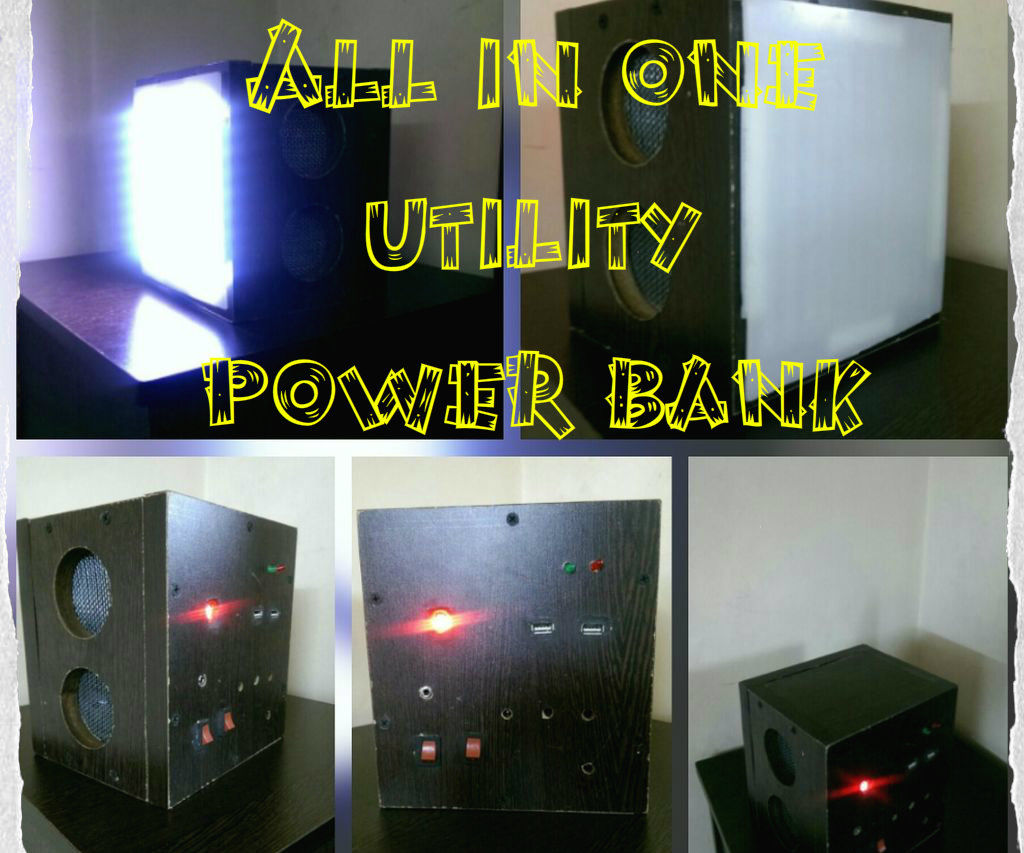 All in One Portable Utility Power Bank