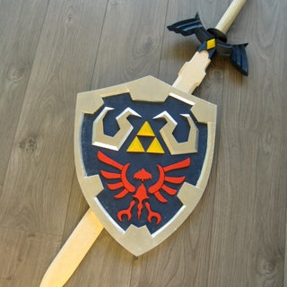 Forging Links Master Sword - Twilight Princess Version