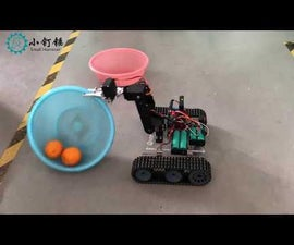 RC Arduino Robot Tank With 4dof Arm PS2 Control SNAR20 SINONING