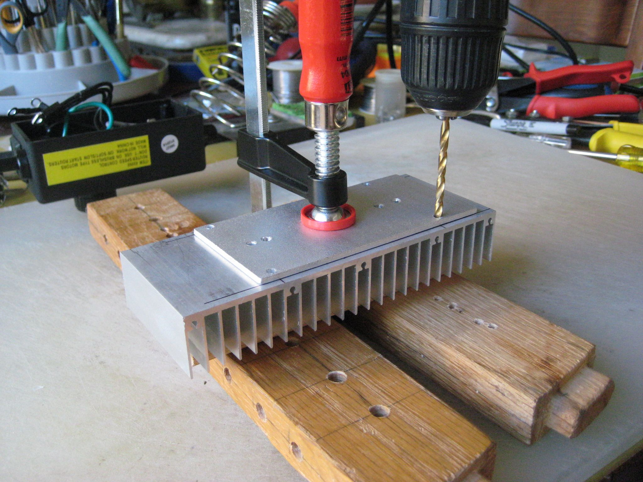 Harbor Freight Router Speed Control Mod