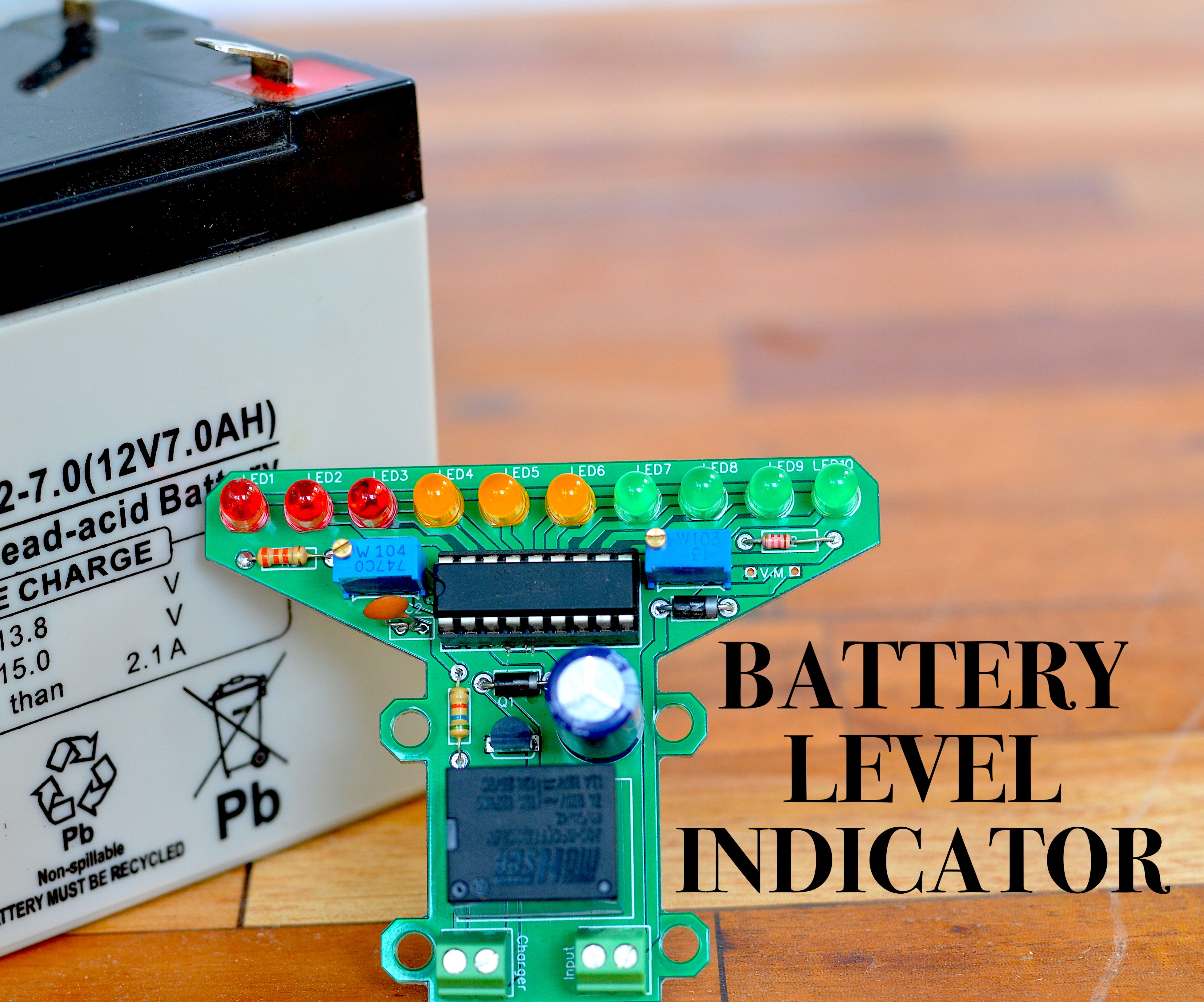DIY Battery Level Indicator/Auto Cutoff for 12v Battery