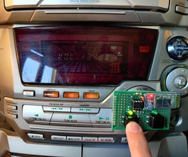Custom Volume Control for an Old Stereo System, With Buttons and Bluetooth