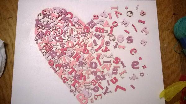 Little Letter Heart