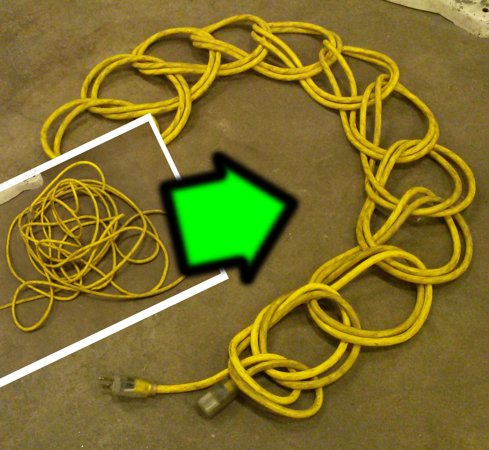 Daisy chain an extension cord