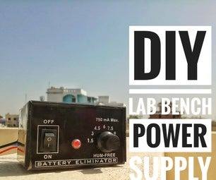 DIY Lab Bench Power Supply at Home