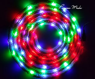 Illuminated Crochet Rug