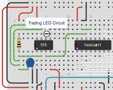 LED Tracer Schematic and Creation